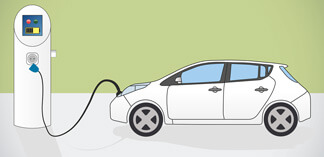 General Motors Drives e-Vehicle