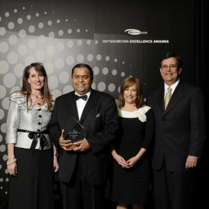 Outsourcing Excellence Award – Best IT Enablement of BPO: Wipro