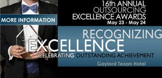 Outsourcing Center Announces Winners of 16th Annual Outsourcing Excellence Awards
