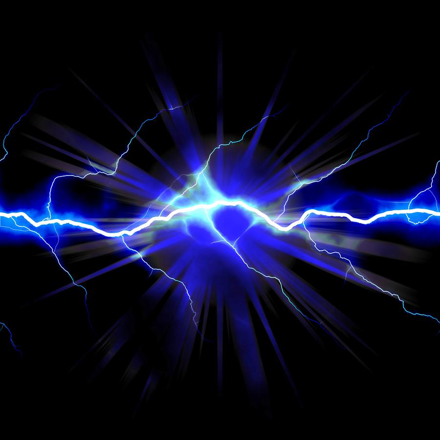 Electrical shock Vector