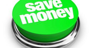 Save Money Green Button